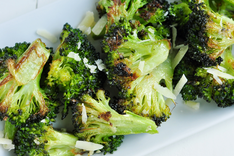 3-Ingredient Crispy Garlic Broccoli