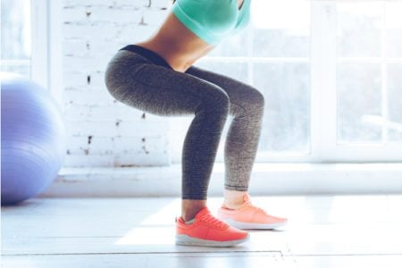 Get Lean: Squat Hold