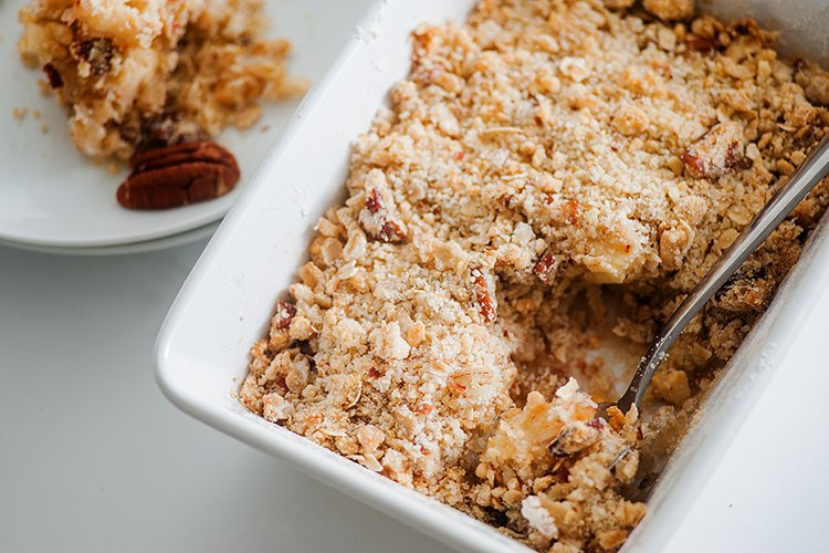Baked Apple Pecan Crisp