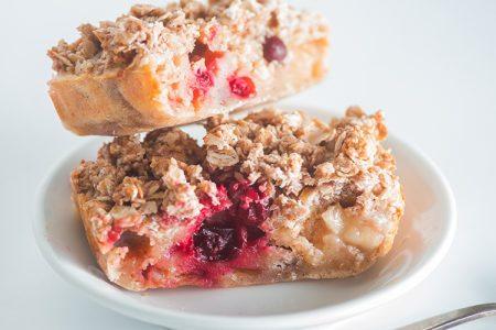 Cran-Apple Coffee Cake