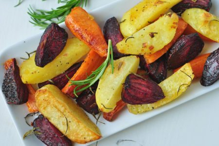 Rosemary Roasted Potatoes and Vegetables