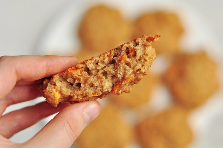 Oatmeal, carrots, spice , and everything nice! These cookies are to die for!