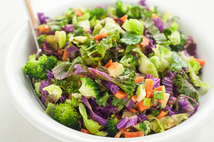 Cranberry and Brussel Sprout Detox Salad