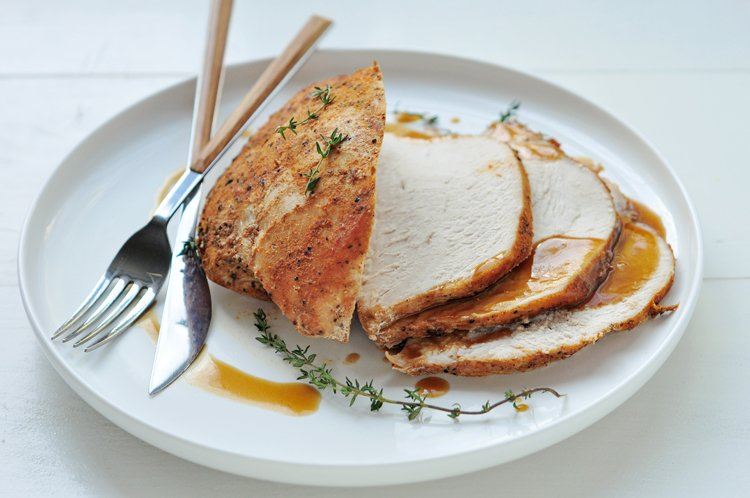 This juicy turkey breast recipe is perfect for people who are trying to get in better shape. Why wait until Thanksgiving!