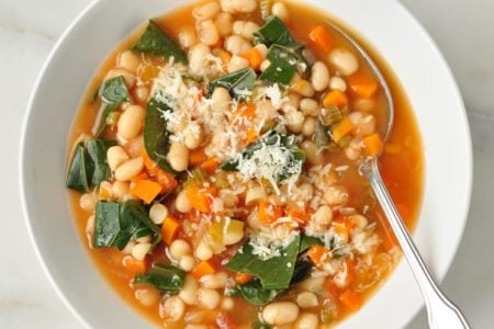Slow Cooker White Bean Stew