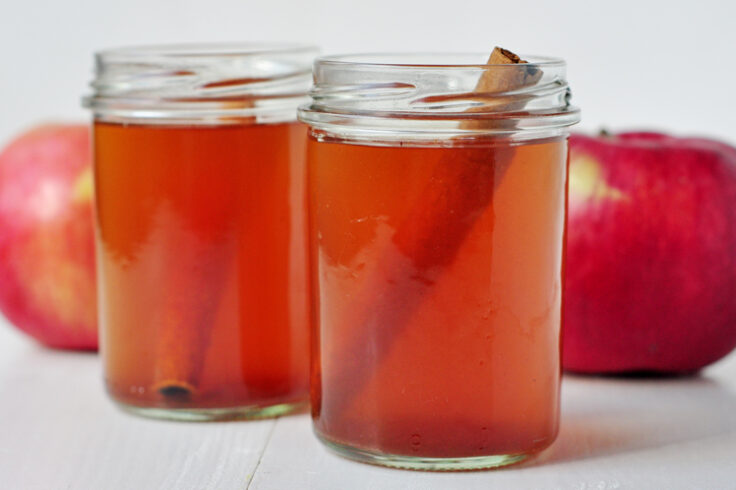 Our spiced apple cider is a classic fall beverage that will warm you right up!
