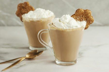 Crock Pot Gingerbread Latte