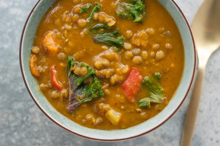 Detoxifying Slow Cooker Moroccan Stew | Healthy Detox Recipe
