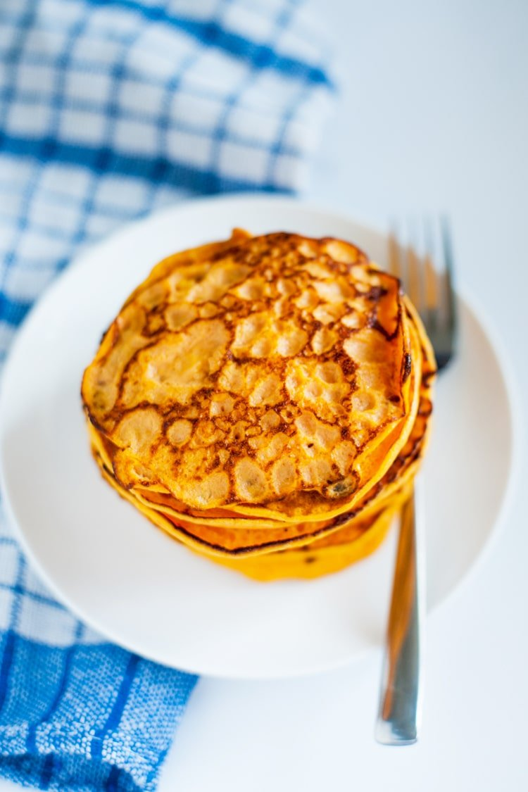 Easy 2-Ingredient Sweet Potato Pancakes: a New Twist On a Classic Meal