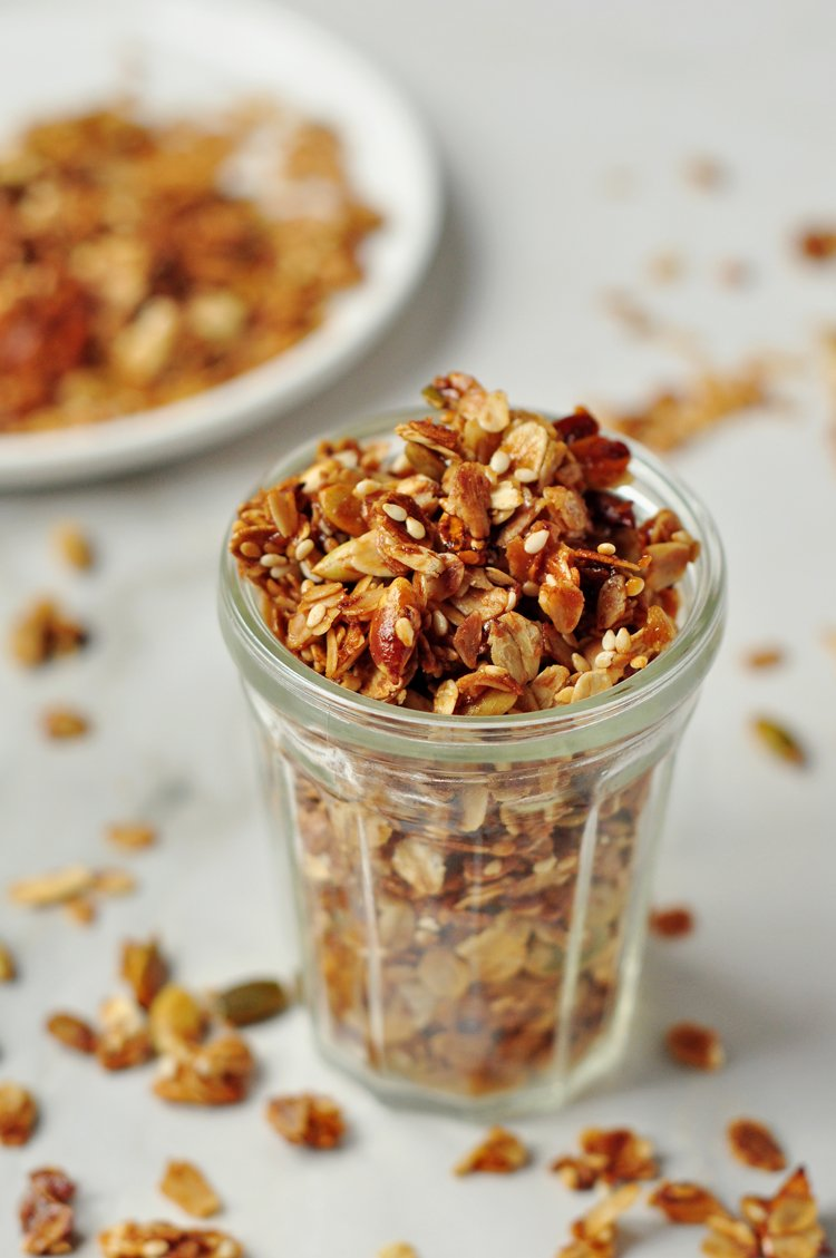 Healthier Energy-Boosting Granola Recipe
