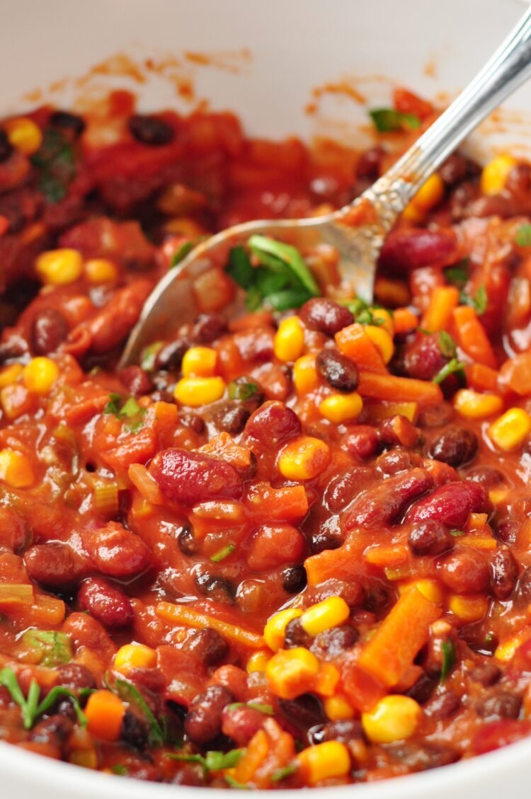 This recipe is bright, vibrant, and full of nutritious ingredients!