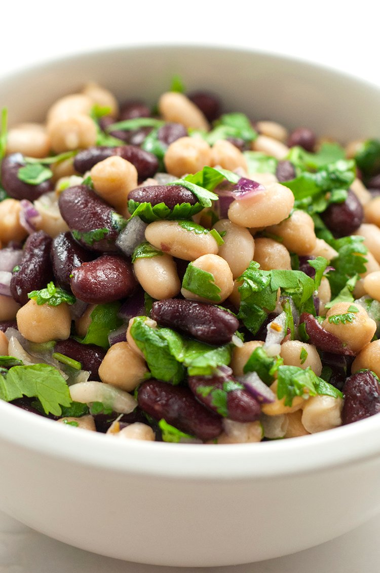 3 Bean Salad Recipe With Cilantro