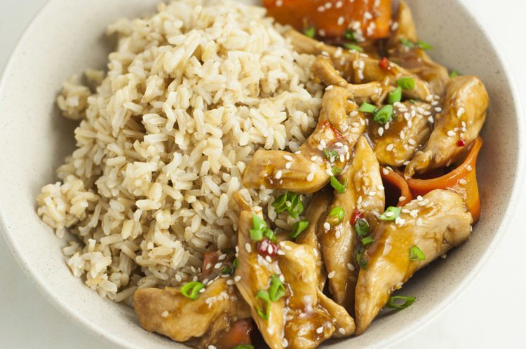 One Pot Sesame Chicken Recipe Healthy One Pot Meals