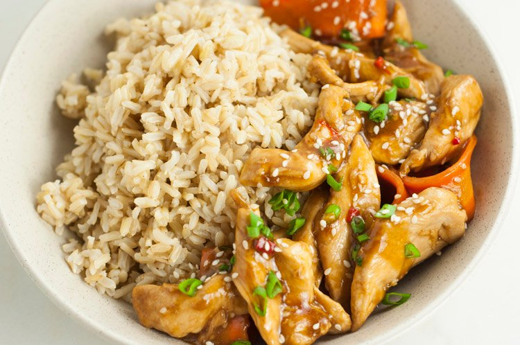 Healthier One-Pot Sesame Chicken Recipe
