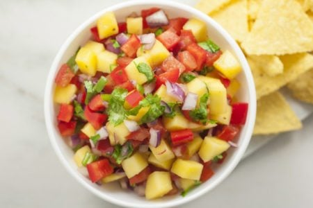 How to Make Spicy Mango Salsa