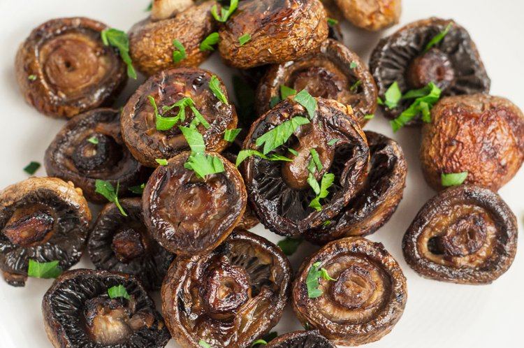 Oven Roasted Mushrooms
