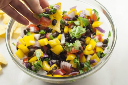 Rainbow Salsa Recipe