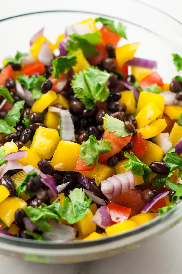 55 Healthy Summer Side Dishes - Rainbow Salsa