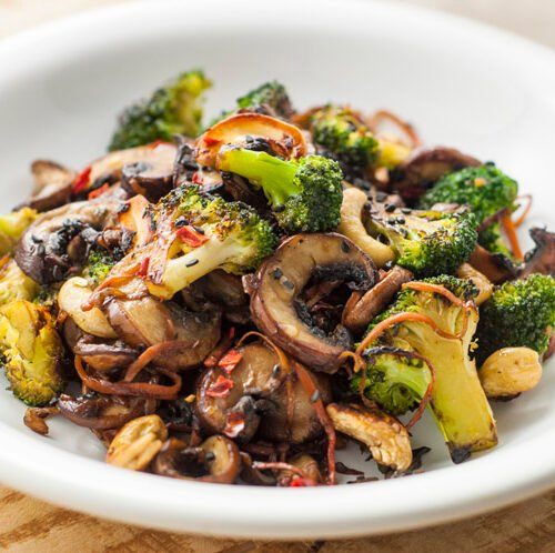 Broccoli And Mushroom Stir Fry Quick Easy Recipes