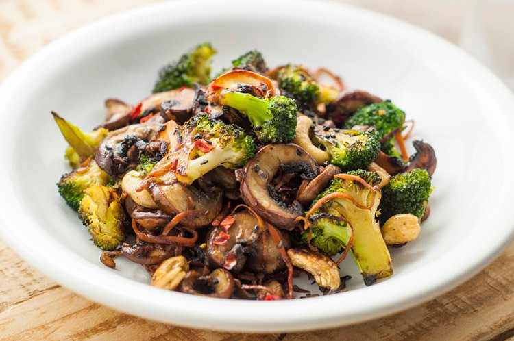 Broccoli and mushroom stir fry vegan stir fry recipes forumfinder Gallery