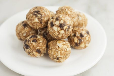 No-Bake Almond Energy Balls
