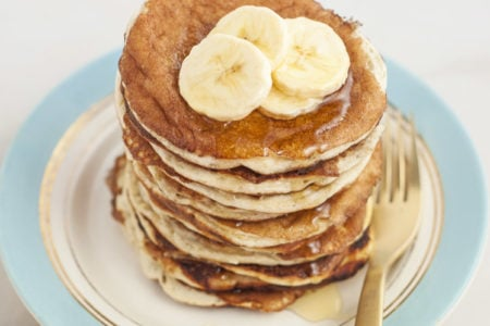 4-Ingredient Protein Pancakes