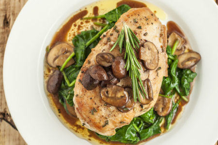 Healthier Olive Garden Garlic Rosemary Chicken Recipe (Copycat)