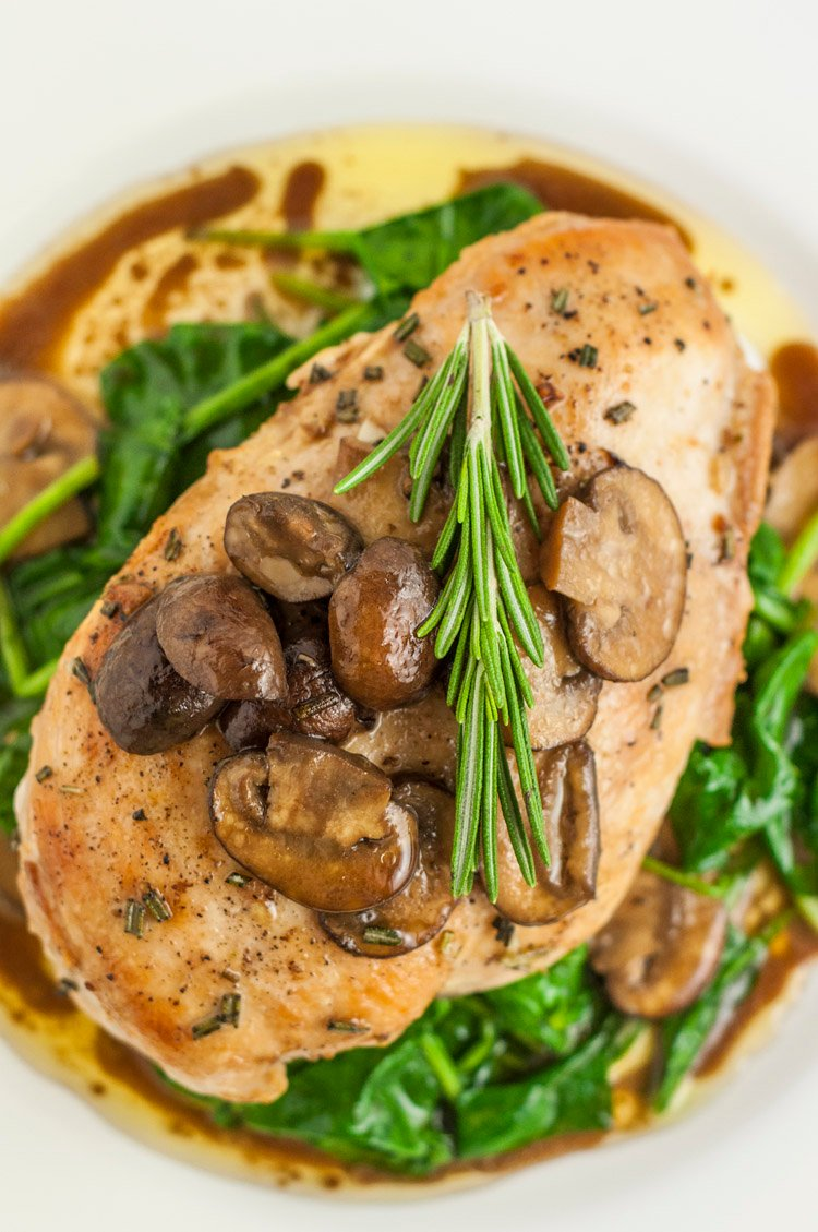 Healthier Olive Garden Garlic Rosemary Chicken Recipe (Copycat)