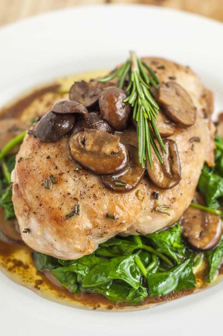 Healthier olive garden garlic rosemary chicken recipe - Olive garden chicken marsala calories ...
