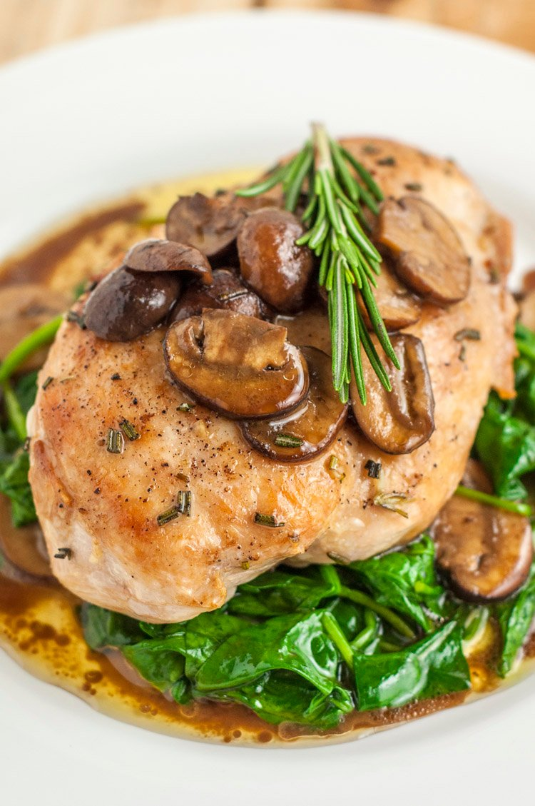 Healthier Olive Garden Garlic Rosemary Chicken Recipe Copycat