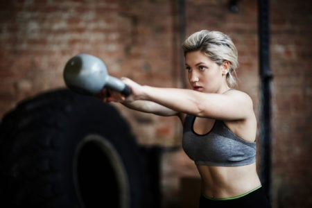 Kettlebell HIIT Challenge for Women