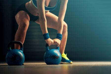 Lower Body Kettlebell Workout