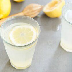 Lemon Ginger detox drink