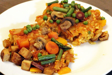 Fusion Paella | Vegan, Gluten Free Recipes