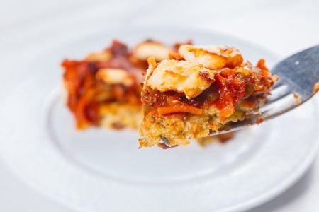 Vegetarian Pizza Casserole | Low-Calorie Pizza Recipes