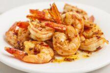 garlic ginger shrimp