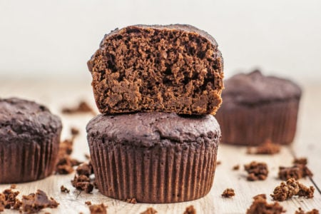Oil-Free Chocolate Muffins | Plant-Based Desserts