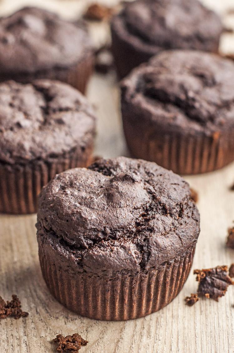 Oil-Free Chocolate Muffins Ultimate Vegan Desserts