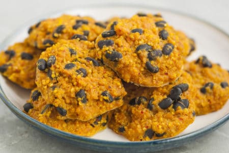 Sweet Potato Black Bean Quinoa Bites