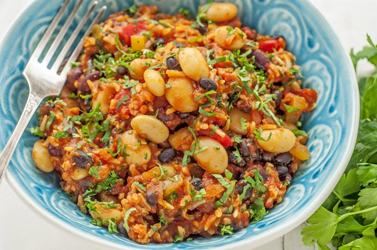 Healthy Vegan Jambalaya Recipe