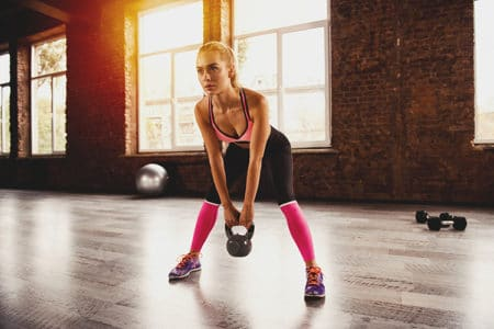 10-Minute Kettlebell Arm Workout