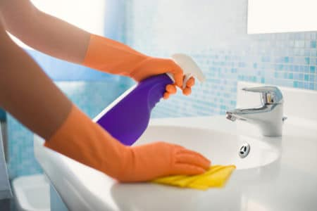 Bathroom and Kitchen Cleaner | Chemical-Free Cleaning Recipes