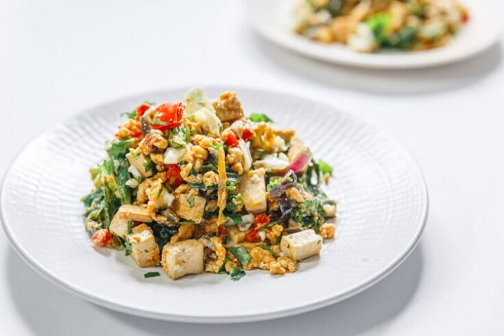 How to Make the Best Savory Southwest Tofu Egg Scramble