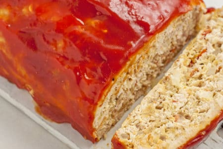 Quick & Easy Recipe: Skinny Turkey Meatloaf