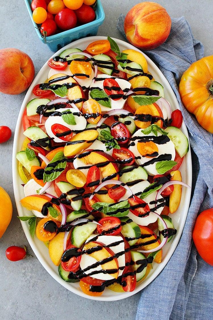 55 Healthy Summer Side Dishes - Summer Caprese Salad