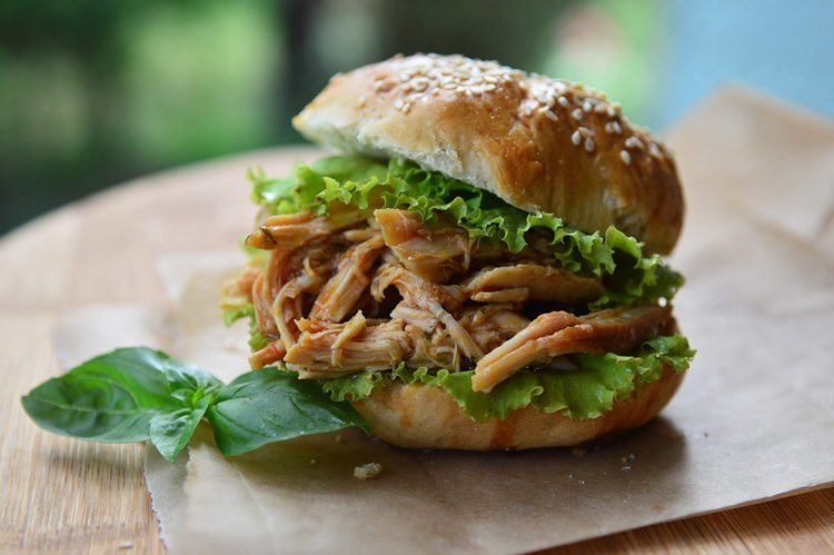 slow cooker barbecue chicken