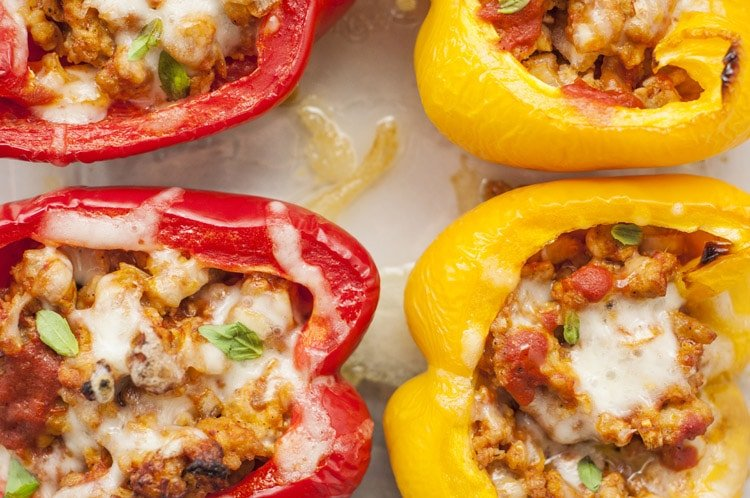 31 Days of Delicious and Nutritious Weight Watchers Dinner Recipes Stuffed Pepper