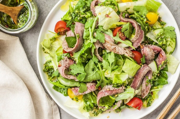 Easy Thai Beef Salad Recipe
