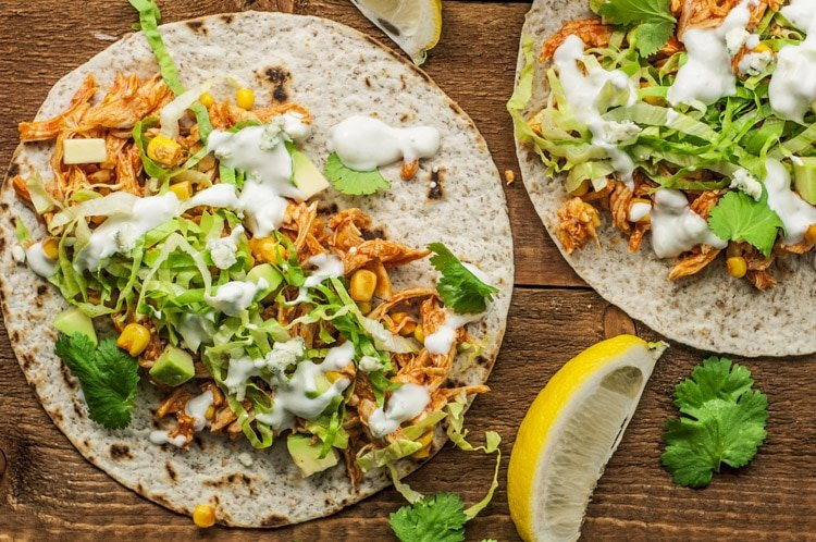 If you adore the beloved Buffalo flavor, you're going to love these chicken tacos!