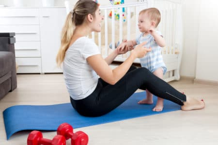 How to Tighten Your Post-Baby Belly with These 4 Moves